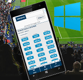 Una app per scommesse Windows Phone