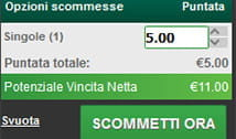 Piazza la tua prima scommessa su Paddy Power