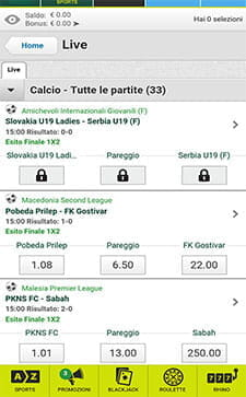 Scommesse live paddypower