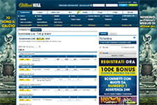 Scommettere su William Hill