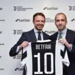 L'accordo di sponsorizzazione tra la Juve e Betfair