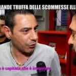 Un fermo immagine della puntata delle Iene del 3 0ttobre 2017 sulle scommesse illegali in Italia.