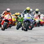 Una corsa delle MotoGP