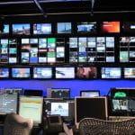 Una redazione TV