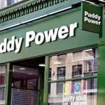 Un centro scommesse Paddy Power