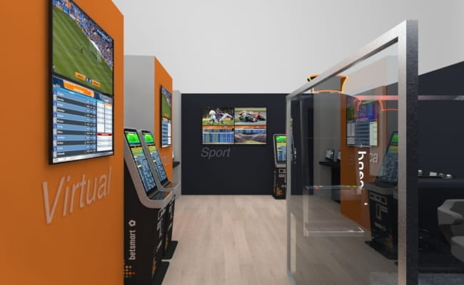 Una sala giochi SNAI