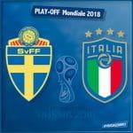 Pronostici di Svezia - Italia spareggio Mondiale Russia 2018