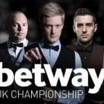 Lo UK snooker Championship di Betway