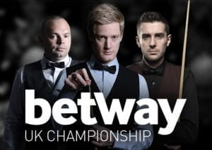 Lo UK snooker Championship di Betway