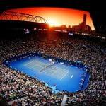 Un campo degli Australian Open 2018