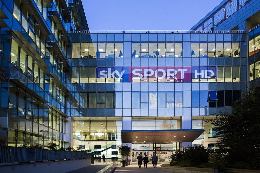 Immagine della sede di Sky Sport