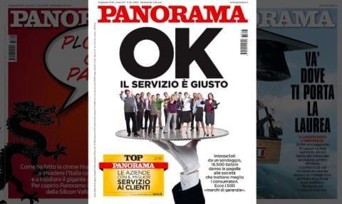 La copertina di Panorama con la ricerca sul servizio clienti dei bookmaker
