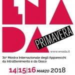 Il logo di Enada Primavera 2018