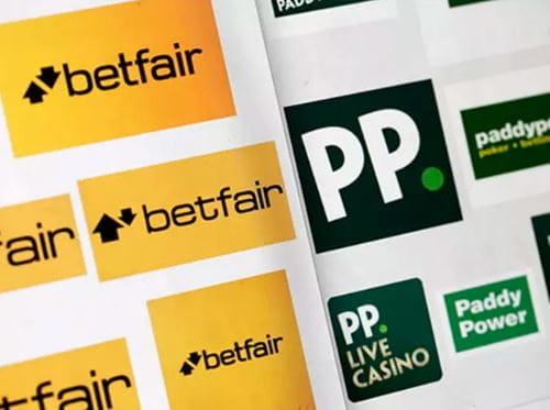 I loghi di Betfair e Paddy Power