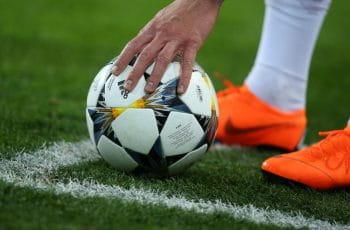 Il pallone della Champions League