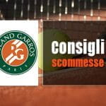 I consigli scommesse per il Roland Garros 2018