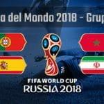 La composizione del Gruppo B della Coppa del Mondo di Russia 2018