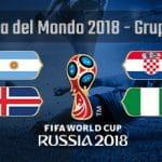 La composizione del gruppo C della Coppa del Mondo Russia 2018
