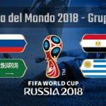 La composizione del Gruppo A della Coppa del Mondo Russia 2018
