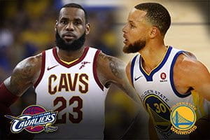 LeBron James e Stephen Curry