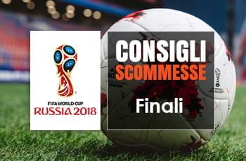 I pronostici delle finali dei Mondiali di Russia 2018 Francia - Croazia e Belgio - Inghilterra