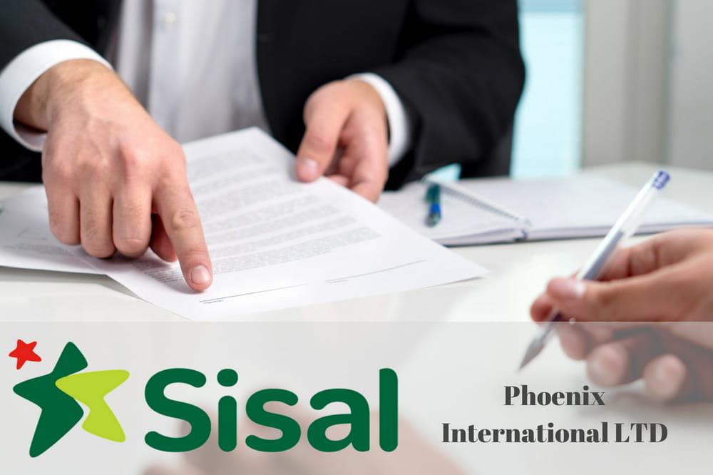 Il logo di Sisal Matchpoint e la firma di un contratto