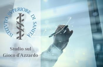 Il logo dell'Istituto Superiore di Sanità e una mano