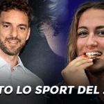 Pau Gasol, Simona Quadarella e la scritta