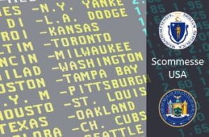 betting board scommesse usa, stemma Stato New York, stemma Stato Massachussets