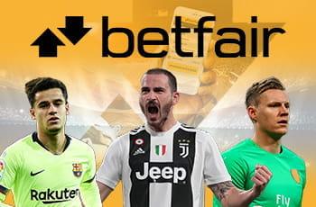 I calciatori Bonucci, Coutinho e Leno e il logo Betfair