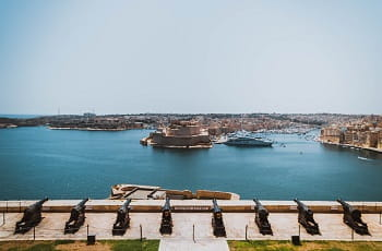 Una veduta di La Valletta, capitale di Malta