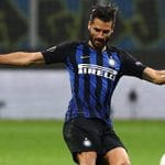 Antonio Candreva, centrocampista dell'Inter