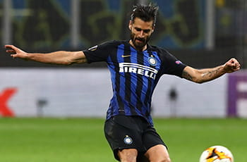 Antonio Candreva, centrocampista dell'Inter