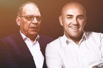 Giovanni Garrisi, ad di Stanleybet, e Fabio Schiavolin, ad Snaitech