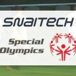 Il logo di Snaitech e quello di Special Olympics
