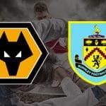 I loghi dei Wolverhamton Wanderers e del Burnley