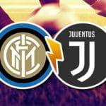 I loghi di Inter e Juventus