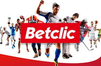 Alcuni sportivi in azione e il logo di Betclic