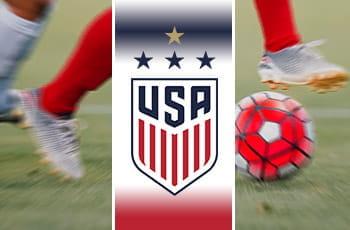 Il logo della nazionale di calcio femminile degli USA