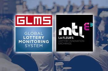 I loghi di GLMS (Global Lottery Monitoring System) e della Conferenza LaFleur