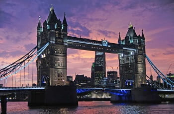Il Tower Bridge a Londra