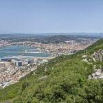 Una veduta di Gibilterra