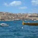Una veduta dell'isola di Malta