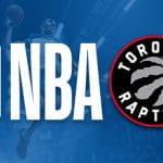 I loghi della NBA e dei Toronto Raptors