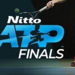 Il logo delle ATP Finals di tennis 2019 a Londra