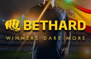 Il logo di Bethard e uno sportivo