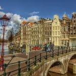 Una veduta di Amsterdam
