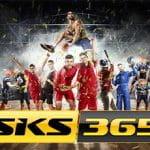 Il logo di SKS365 e degli sportivi generici