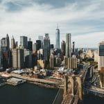 Una veduta della città di New York