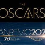 I loghi del Premio Oscar e del Festival di Sanremo 2020